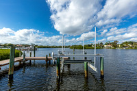 2603 Captains Way dock view