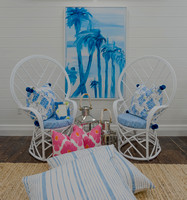 pineapples palms chairs 5