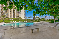 1801 South Flagler Unit 605 pool view