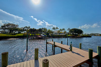 1702 Captains Way dock view south